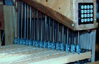 Picture of an Electronic Weaving Loom